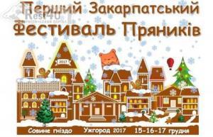 Перший Закарпатський фестиваль пряників