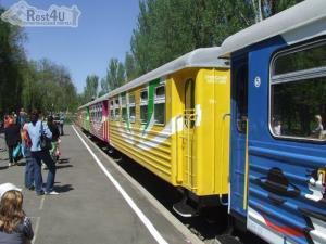 В Донецьку дитяча залізниця відкрила новий сезон