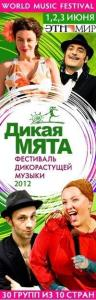 Worldmusic фестиваль «Дикая мята - 2012»