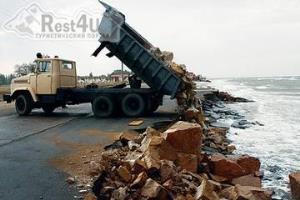 Курорт Бердянск может лишиться своих пляжей
