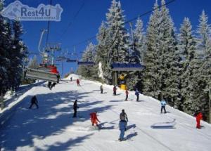 На горнолыжных курортах Закарпатья заснежило