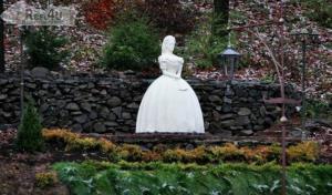 Пам'ятник імператриці Сіссі в Закарпатті