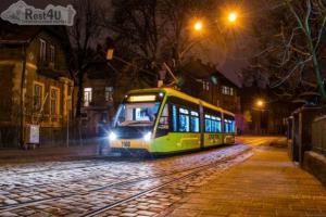 У Львові на Новий рік та Різдво курсуватимуть нічні трамваї