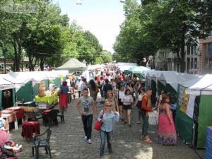 Туристический и этно-фестивали на Дерибасовской